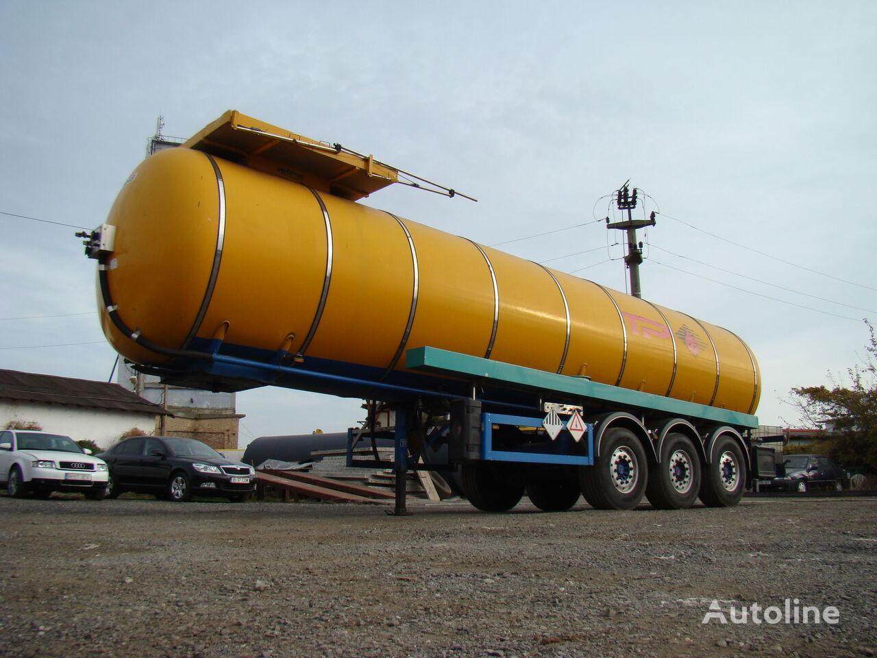 cisterna za bitumen FELDBINDER TSA 30.3 INOX - 2003