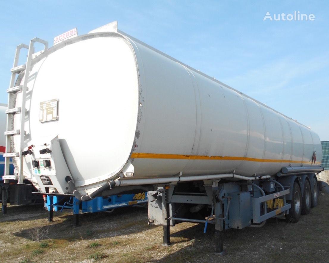 cisterna za gorivo ACERBI BENZIN/DIESEL 5 KAMER 41.080 L.+METER SAMPI DUAL+ADR 07.2018