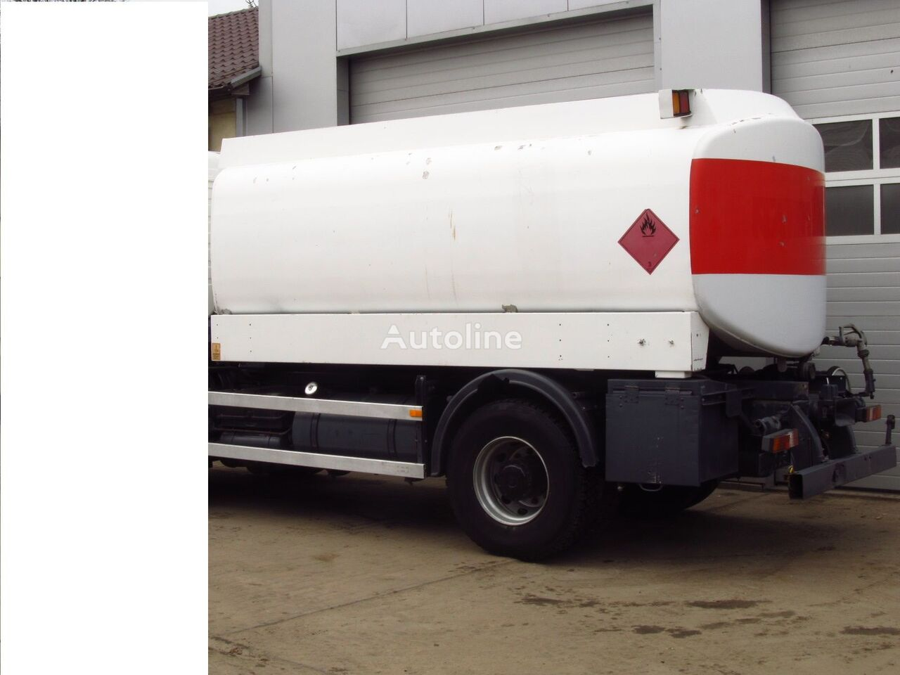 cisterna za gorivo  MERCEDES-BENZ ONLY TANK BUNGE 13500 L CYSTERNA DO PALIWA