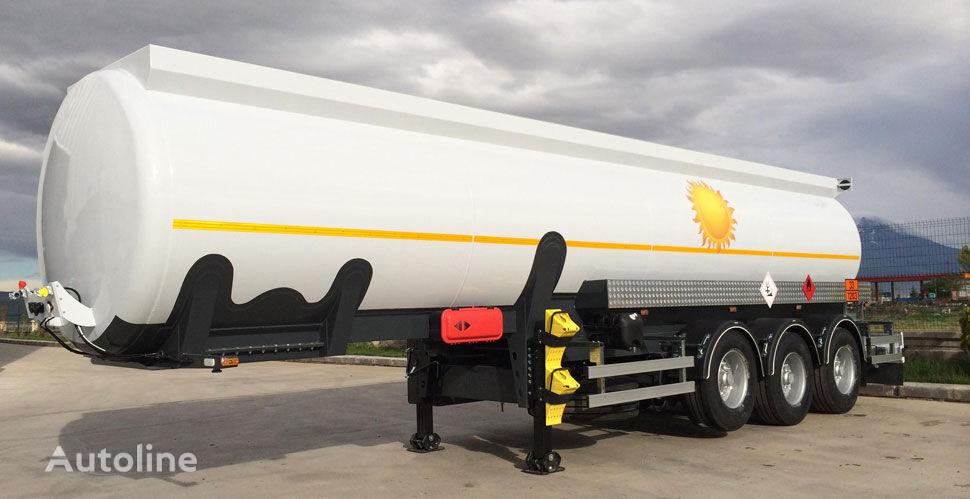 nova cisterna za gorivo NURSAN alyuminievaya 32 m3