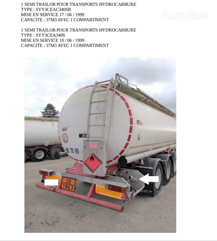 cisterna za gorivo TRAILOR