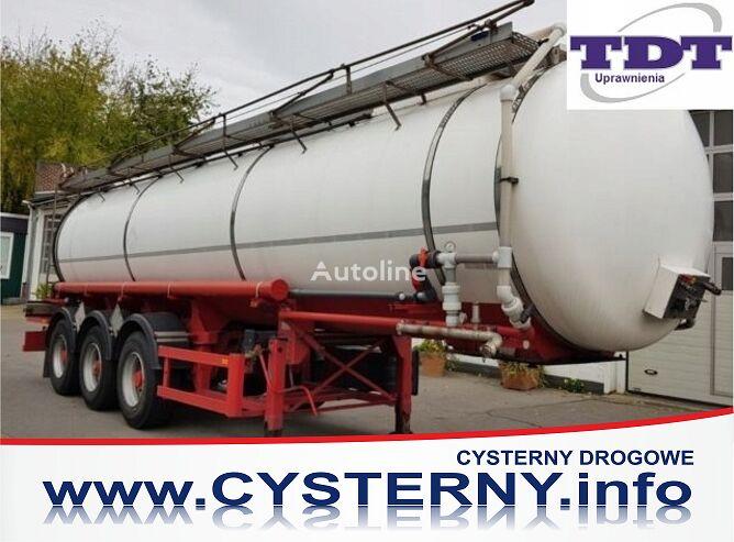 cisterna za kemikalije CYSTERNA KWAS SOLNY KL.8 ADR,1 KOM. 25,2tyś.l 2000