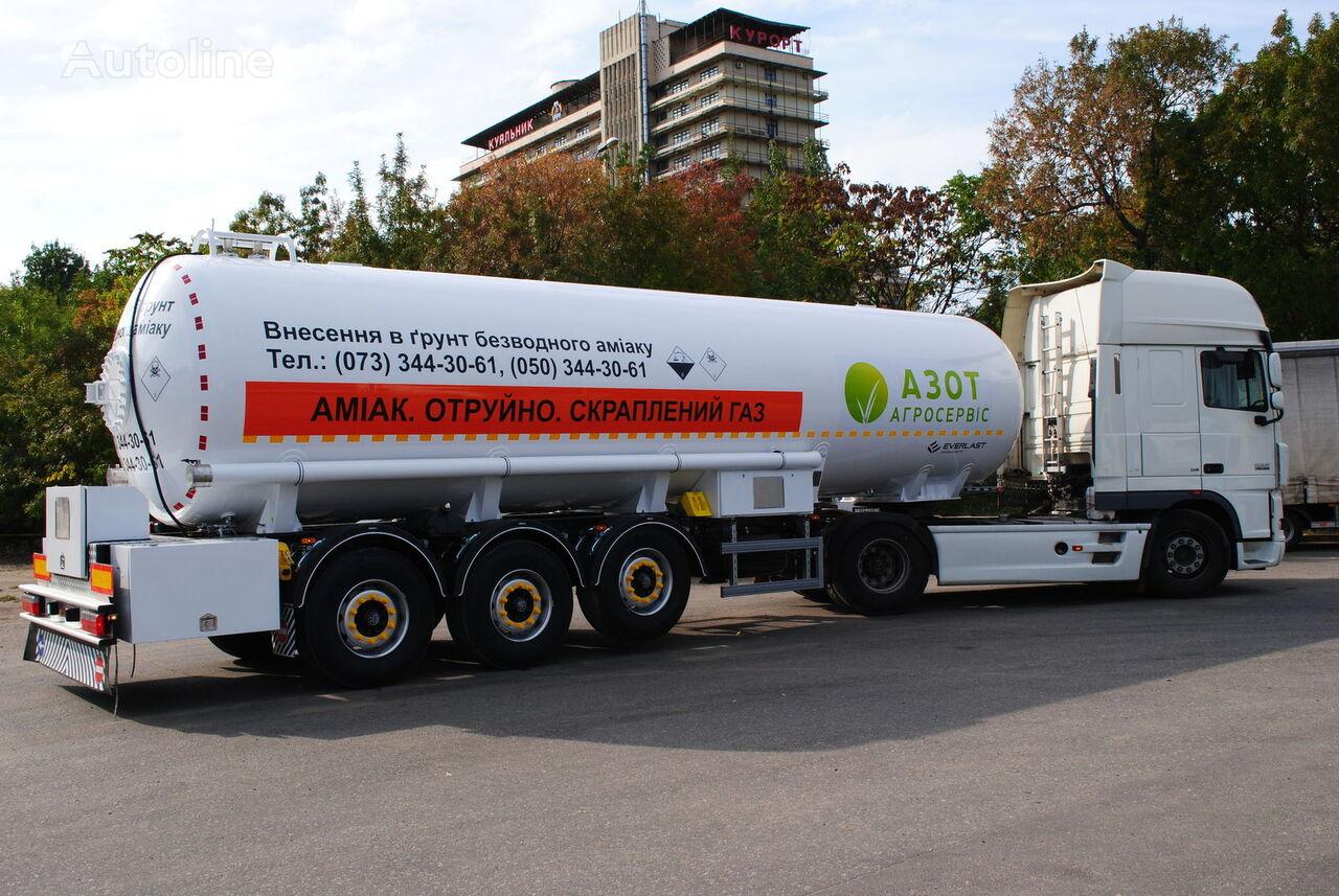 nova cisterna za kemikalije EVERLAST Ammiakovoz