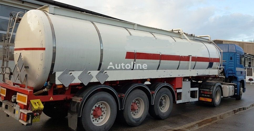 cisterna za kemikalije HENDRICKS Gummierter Tank Säure