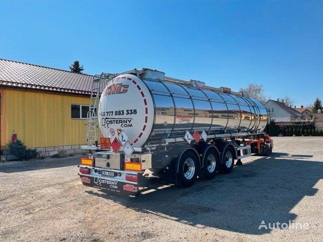nova cisterna za kemikalije KASSBOHRER ADR L4BH