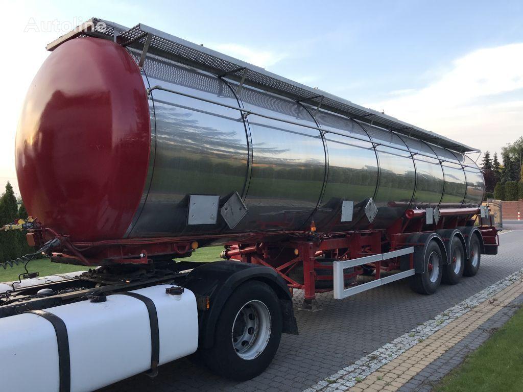cisterna za kemikalije LAG GSA 24 INOX CHEMIE KODE L4BN