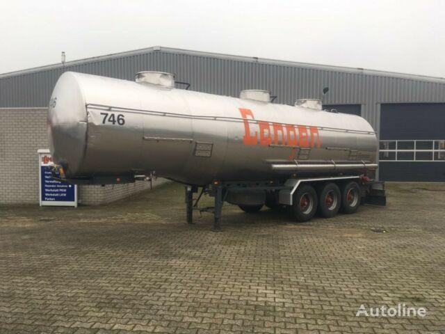 cisterna za kemikalije MAGYAR tank 3 kammer ADR