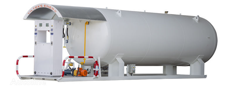 nova cisterna za plin 10 M3 LPG SKID TANK WITH DISPENSER