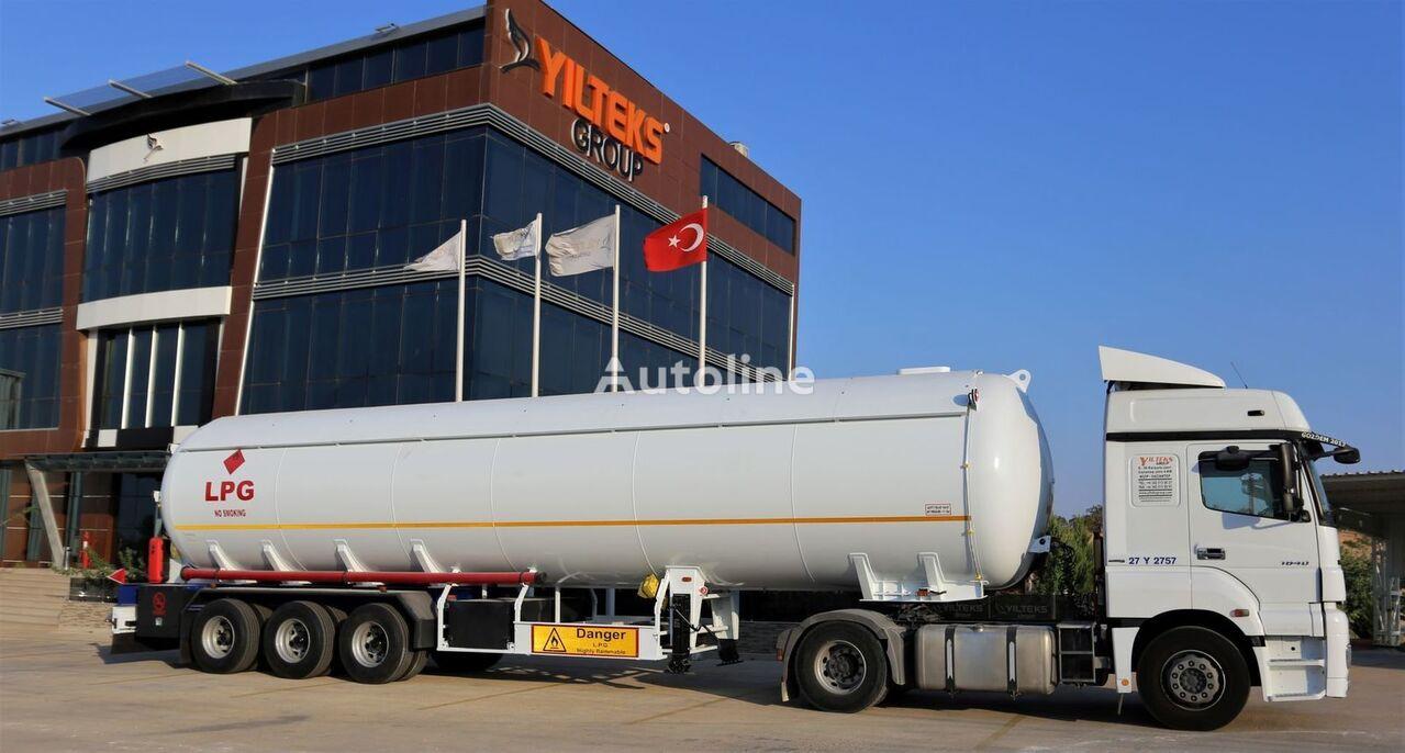 nova cisterna za plin 60 M3 LPG SEMI TRAILER