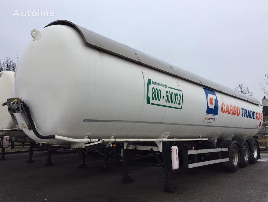 cisterna za plin ACERBI GPL PROPAN/BUTAN 1996 P25BH 52.000 L. 25BAR+ABS+ADR 09.2020