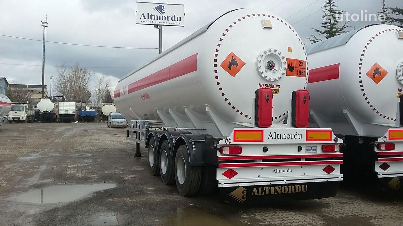 nova cisterna za plin ALTINORDU 3 AXLE 60 M3 12 TYERS LPG ROAD TANKER