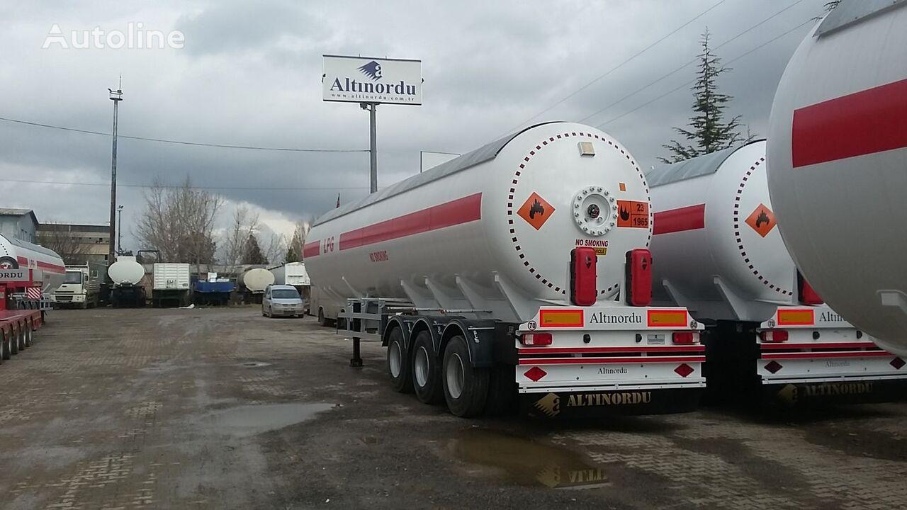 nova cisterna za plin ALTINORDU PRODUCER SINCE 1972, 3 AXLE , 12 TYERS, 60 M3 LPG ROAD TANKER