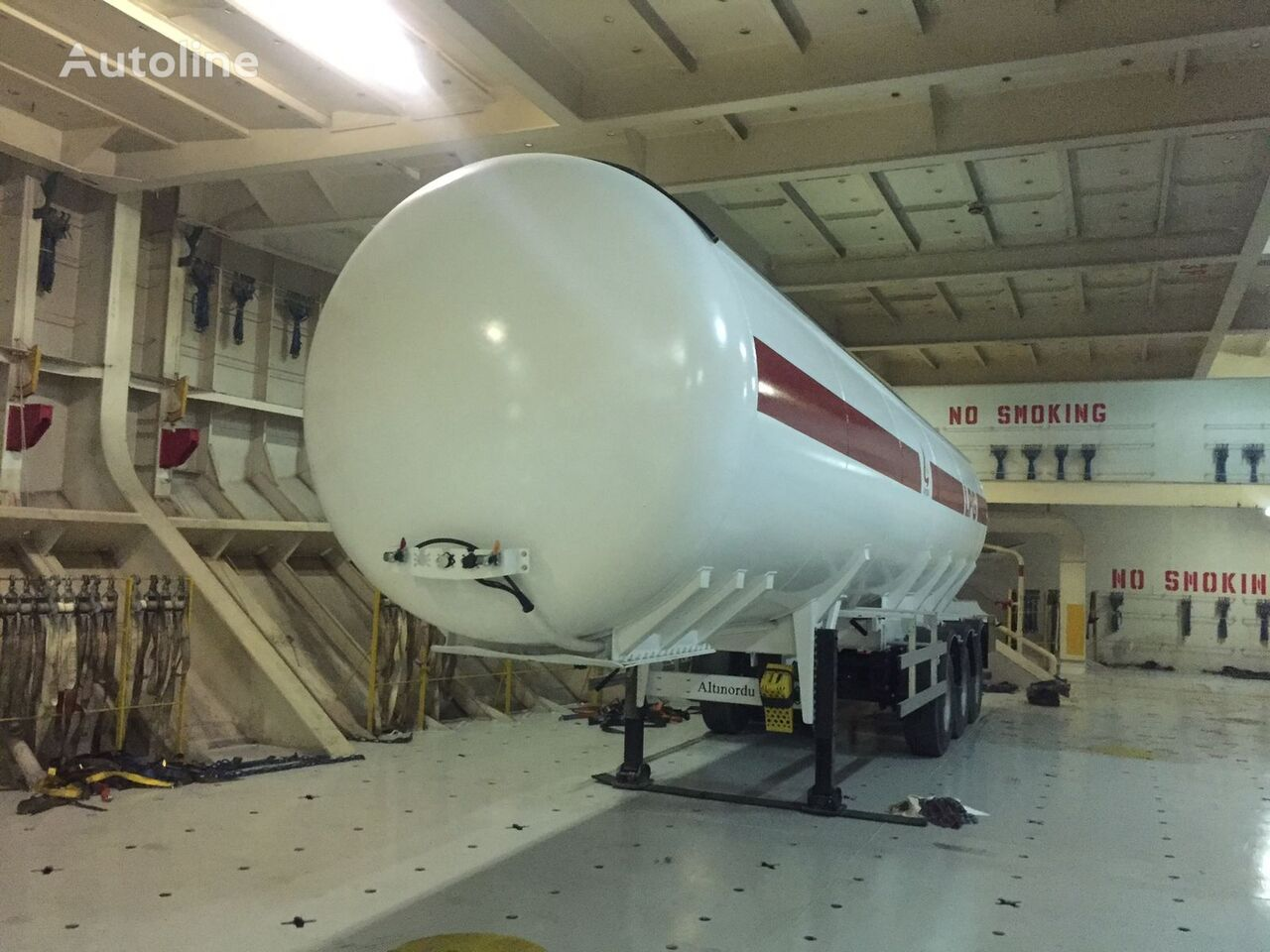 nova cisterna za plin ALTINORDU PRODUCER SINCE 1972, 3 AXLE 50 M3 LPG TANK SEMITRAILER