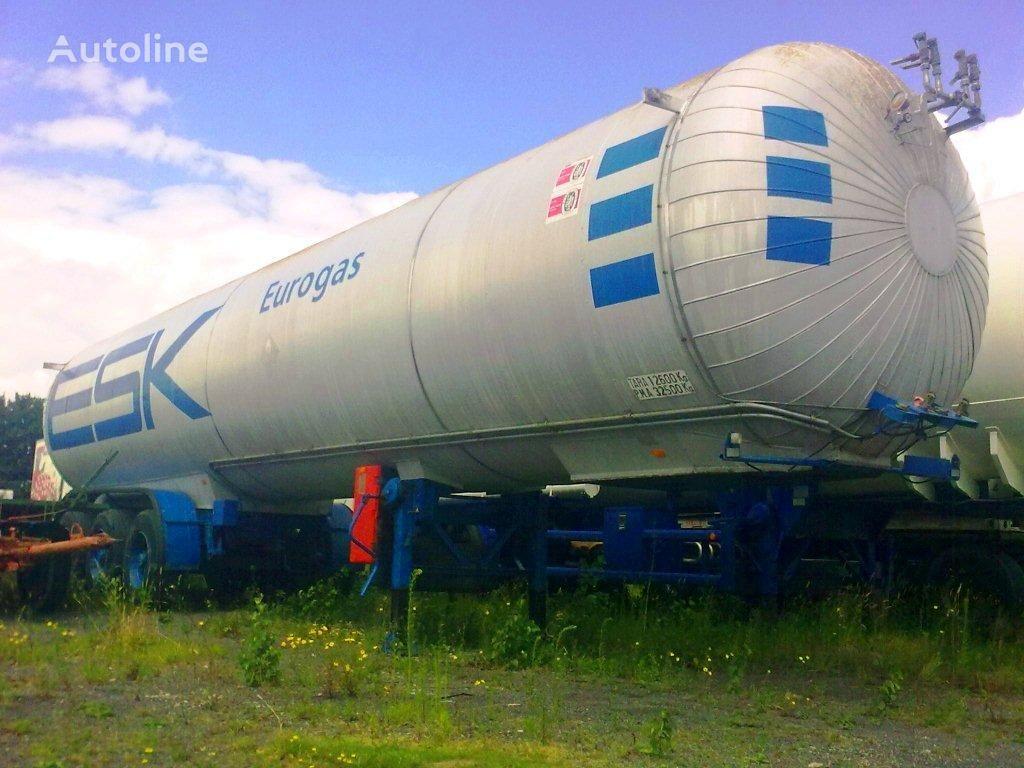 cisterna za plin AUREPA LNG, Methane, Gas Tank, 45000 Liter, Natural gas, Air Liquide cr