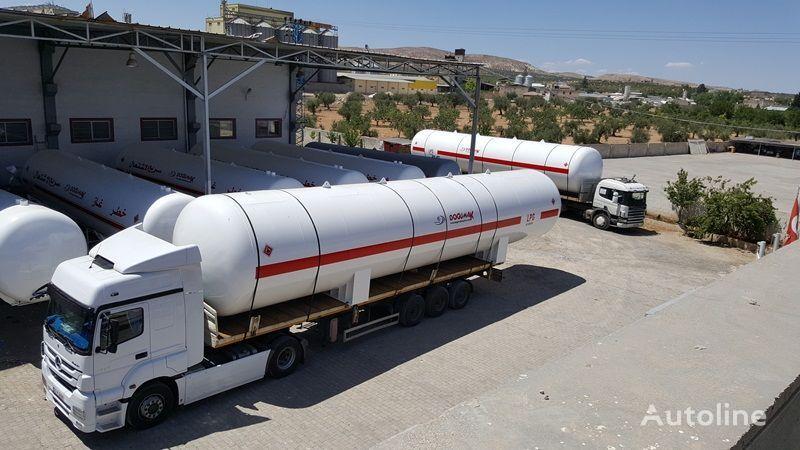 nova cisterna za plin DOĞUMAK 115 M3 LPG STORAGE