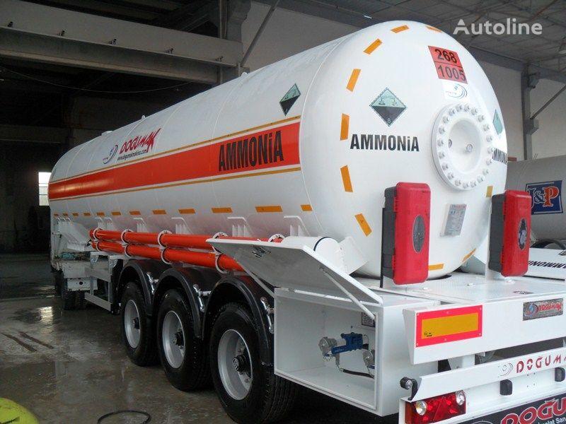 nova cisterna za plin DOĞUMAK AMMONIA NH3 35M3