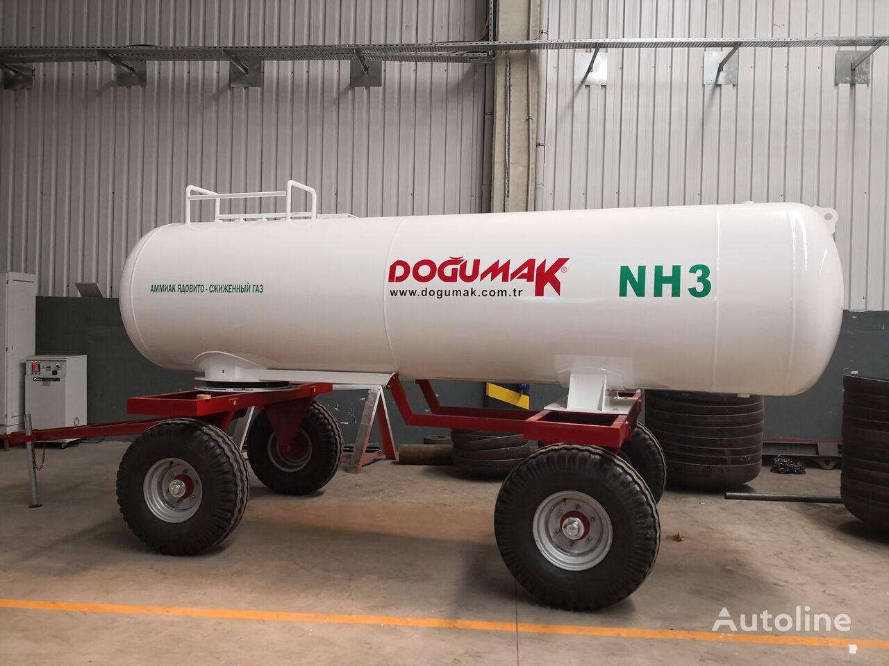 nova cisterna za plin DOĞUMAK Ammonia fertilizer application Tank (NH3) 5,5 M3