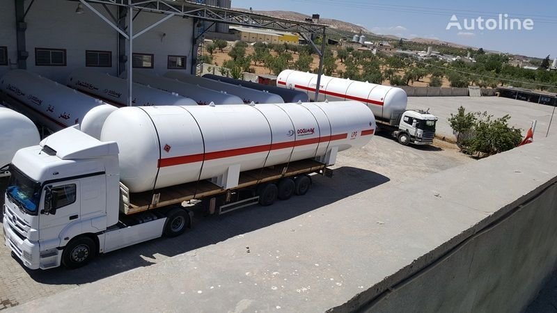nova cisterna za plin DOĞUMAK INDUSTRIAL LPG STORAGE TANKS