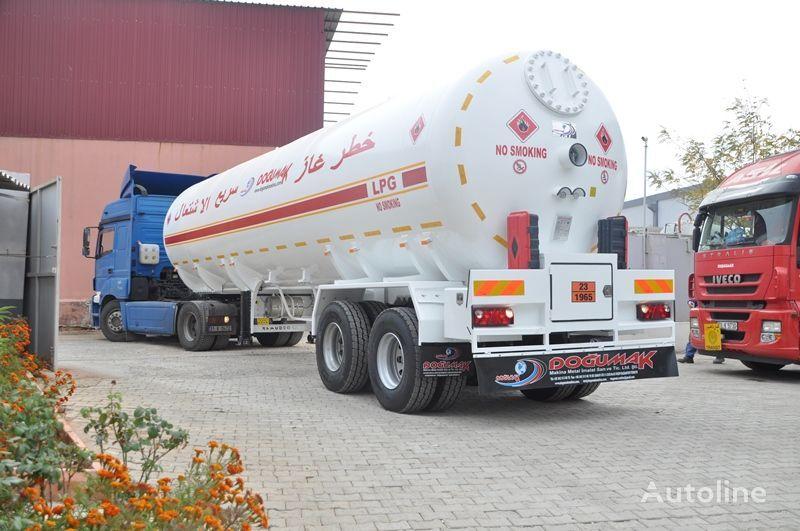 nova cisterna za plin DOĞUMAK LPG 57 M3 YEMEN TYPE