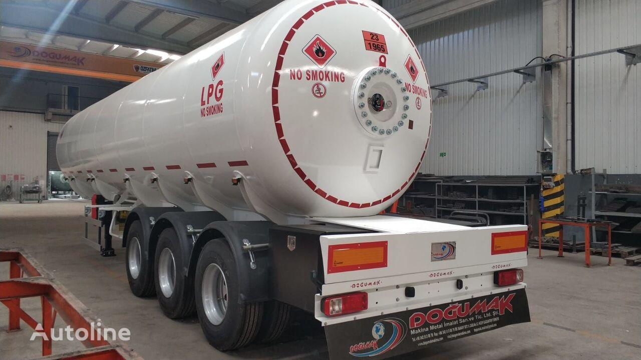nova cisterna za plin DOĞUMAK LPG SEMI TRAILER