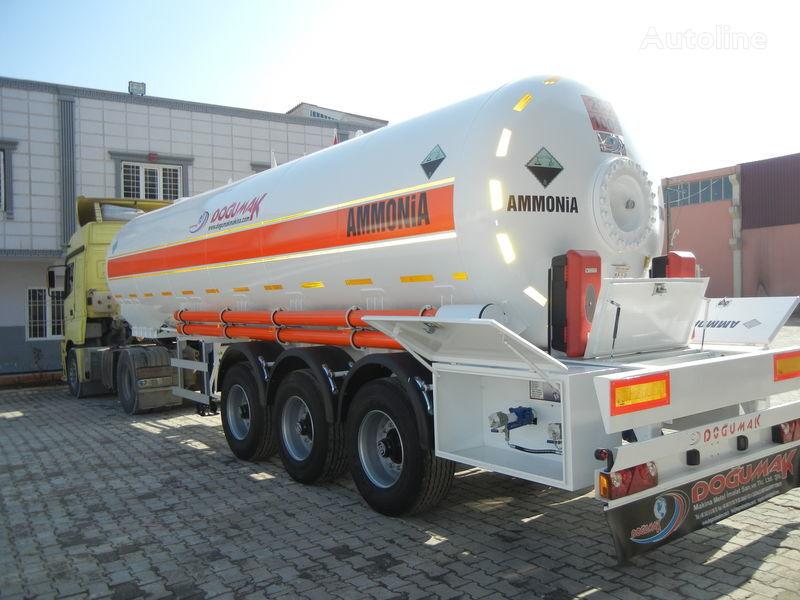 nova cisterna za plin DOĞUMAK SEMI-TRAILER  35M3 AMMONIA (NH3)