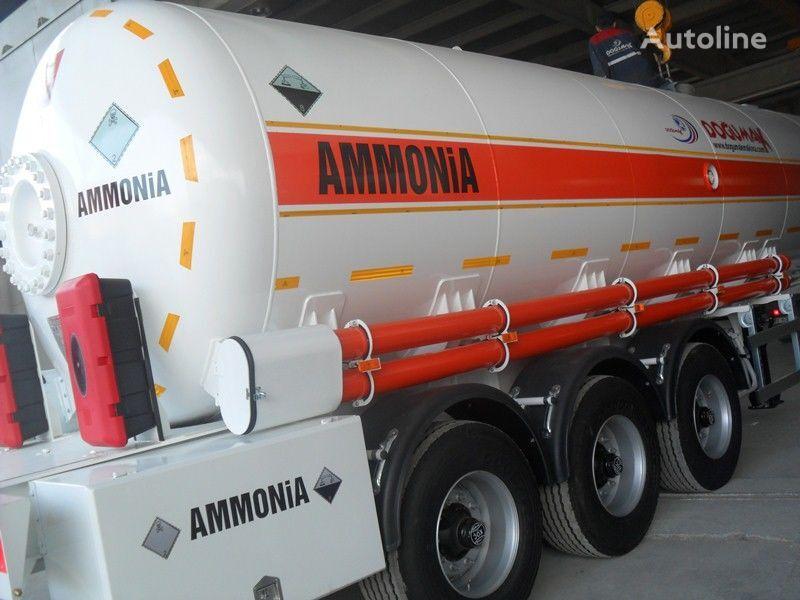 nova cisterna za plin DOĞUMAK AMMIAKOVOZ 35M3