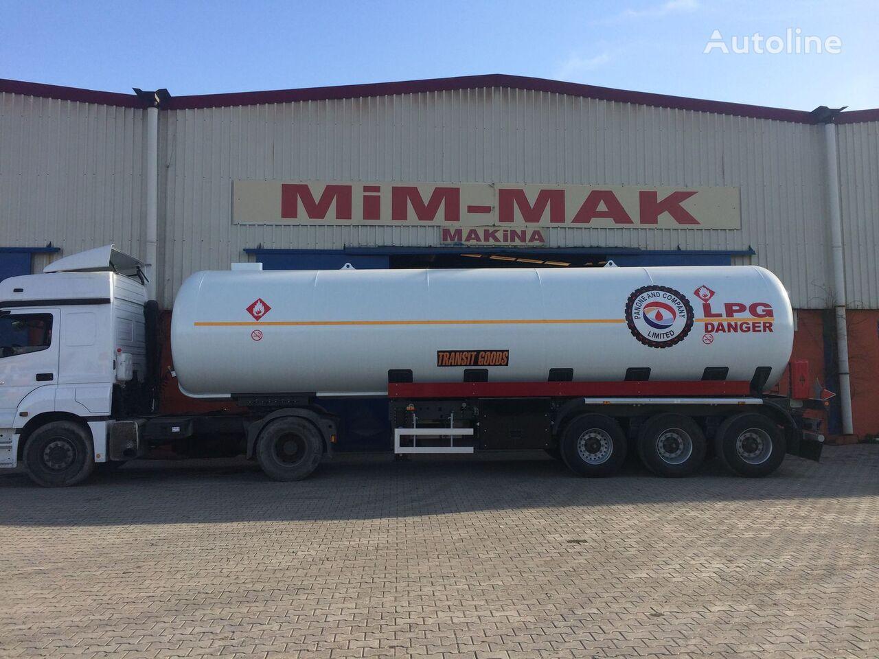 nova cisterna za plin MIM-MAK 45 m3 LPG TRANSPORT TANK