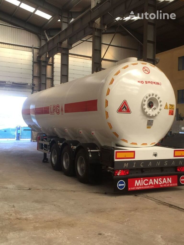 nova cisterna za plin Micansan 2019 READY FOR SHIPMENT NEW MODEL EXCELLENT PRODUCT 50 M3
