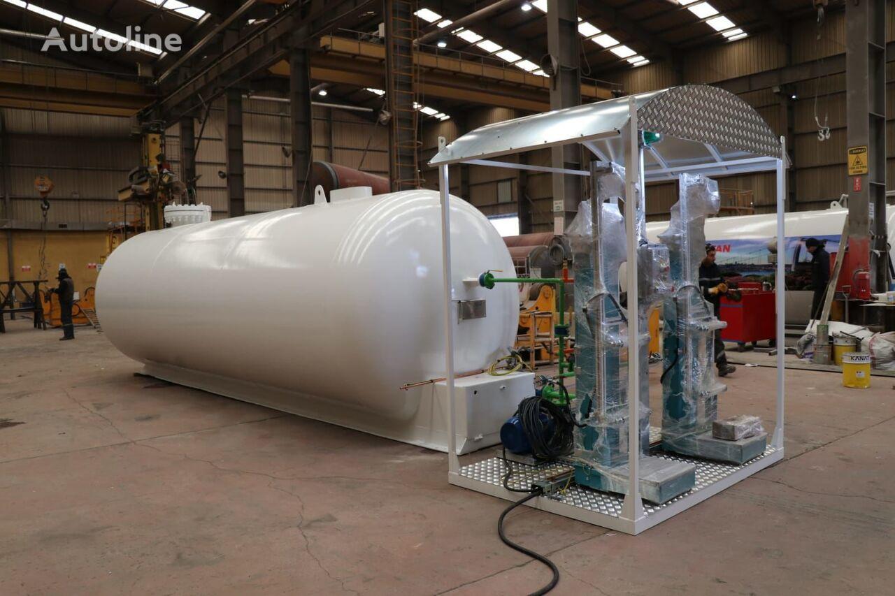 nova cisterna za plin Micansan 23 M3 USED TANK AND NEW SKID SYSTEM