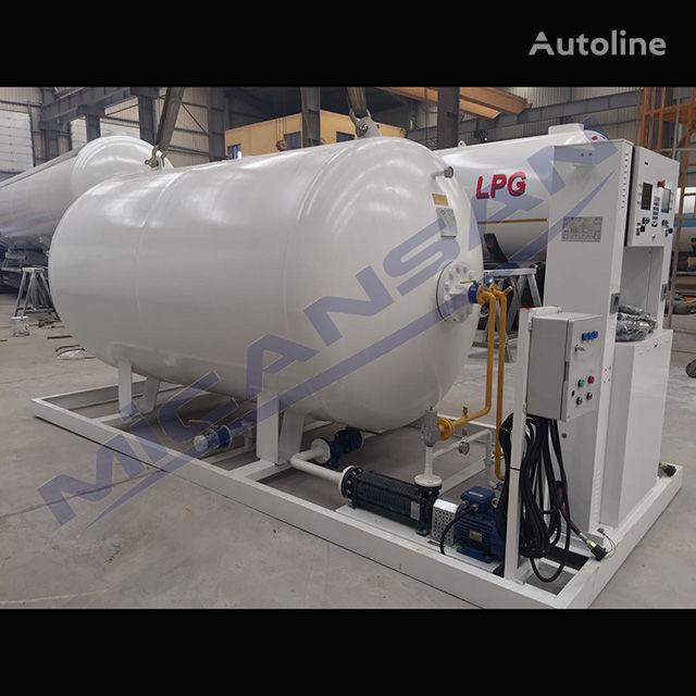 nova cisterna za plin Micansan BIG DISCOUNT 2019 10-20 m3 skıd auto gas and fıllıng cylınder sy