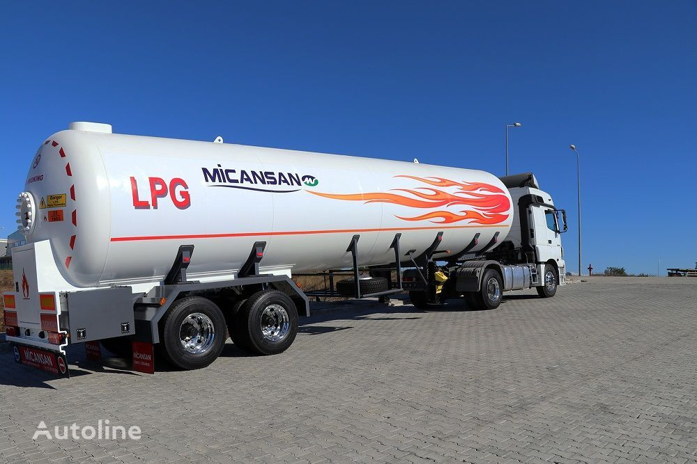 nova cisterna za plin Micansan LAST 5 UNITS 57 M3 LPG TRANSPORT TANK SEMITRAILER