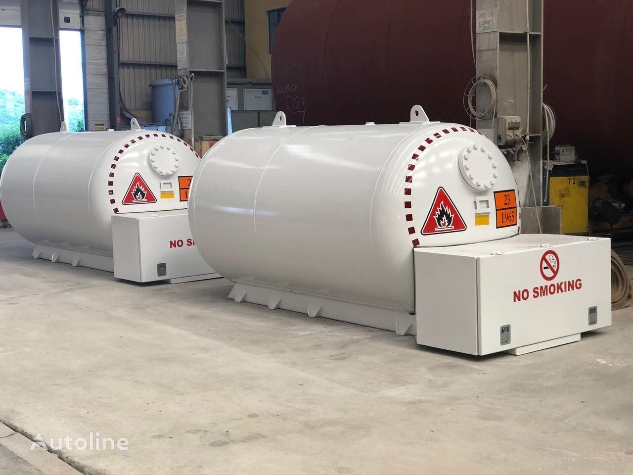 nova cisterna za plin Micansan bobtaıl tank 4-8-10 m3 for domestıc usıng
