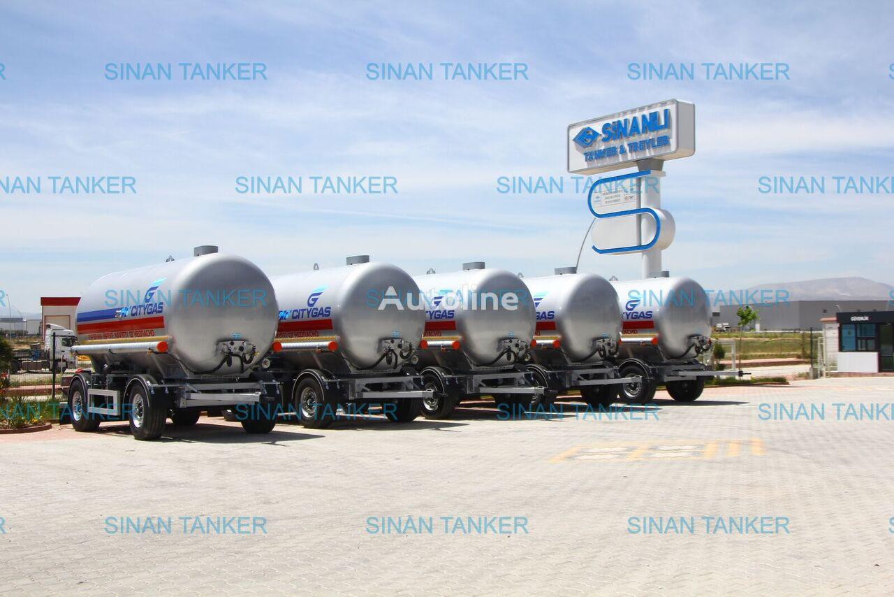 nova cisterna za plin SINAN TANKER-TREYLER LPG tanker Trailer- Gazovoz