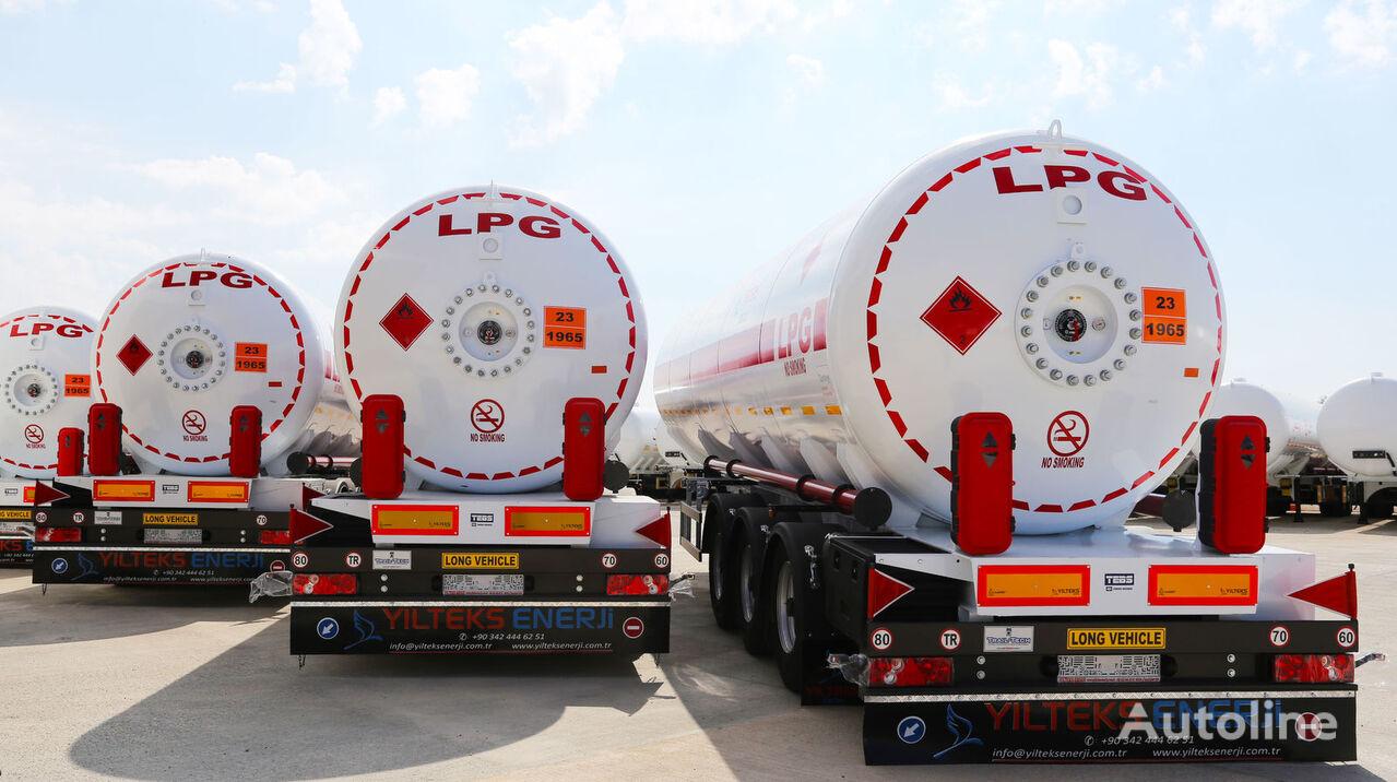 nova cisterna za plin YILTEKS 45 M3 LPG SEMI TRAILER