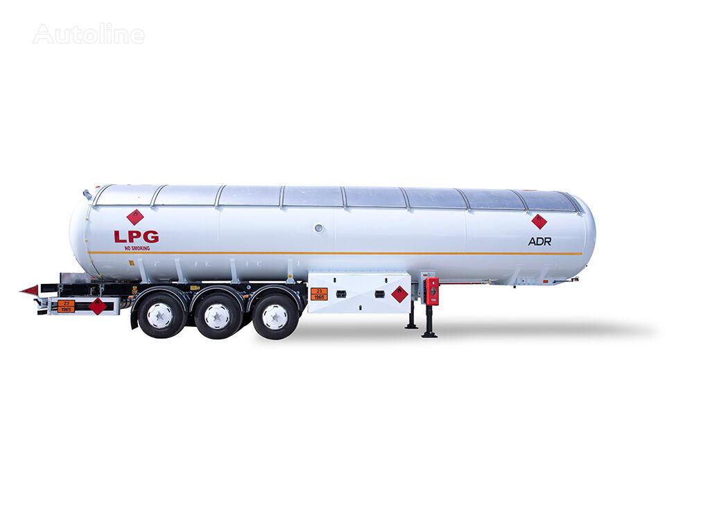 nova cisterna za plin YILTEKS 60 M3 ADR SEMI TRAILER