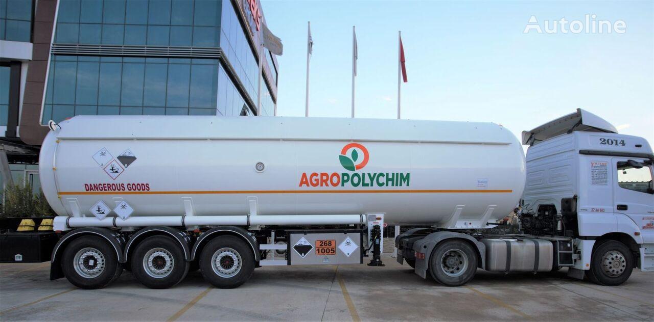 nova cisterna za plin YILTEKS ADR AMMONIA SEMI TRAILER