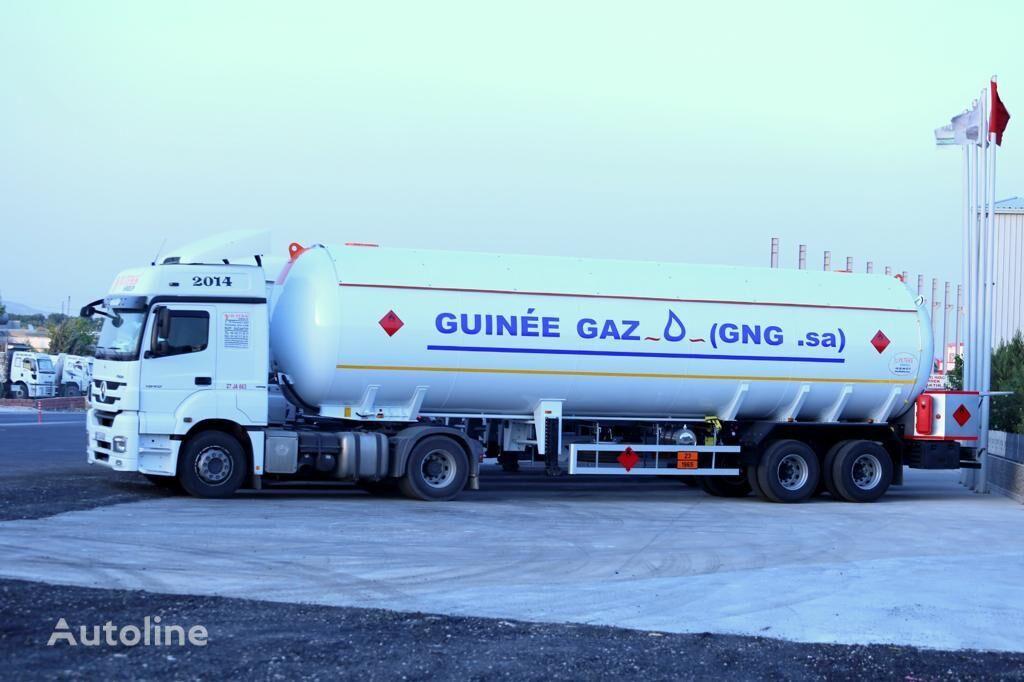nova cisterna za plin YILTEKS LPG SEMI-TRAILER
