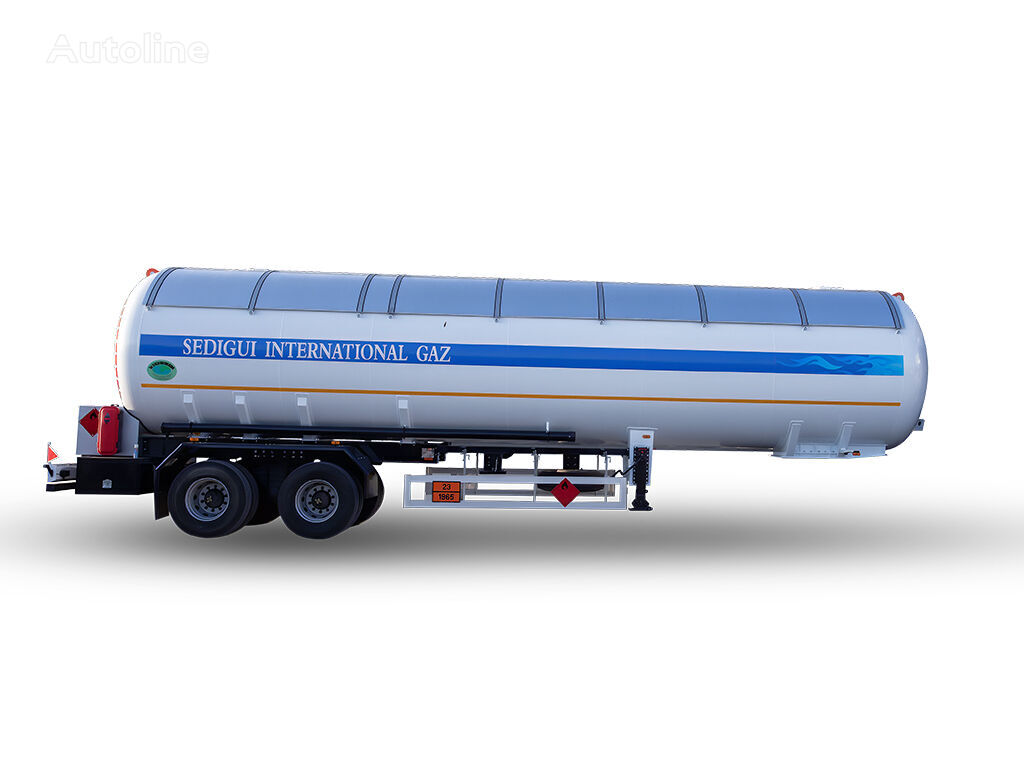 cisterna za plin YILTEKS NEW DESIGN 57 M3 SEMI TRAILER