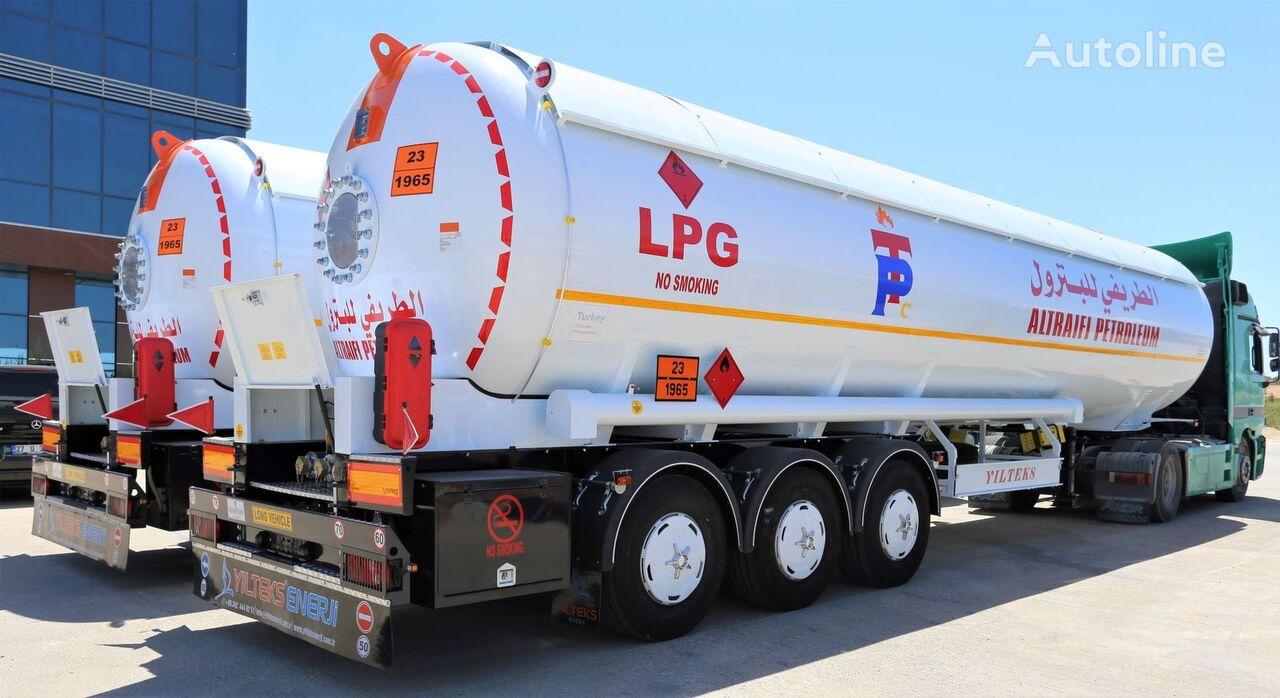 nova cisterna za plin YILTEKS Semi Trailer LPG Tank