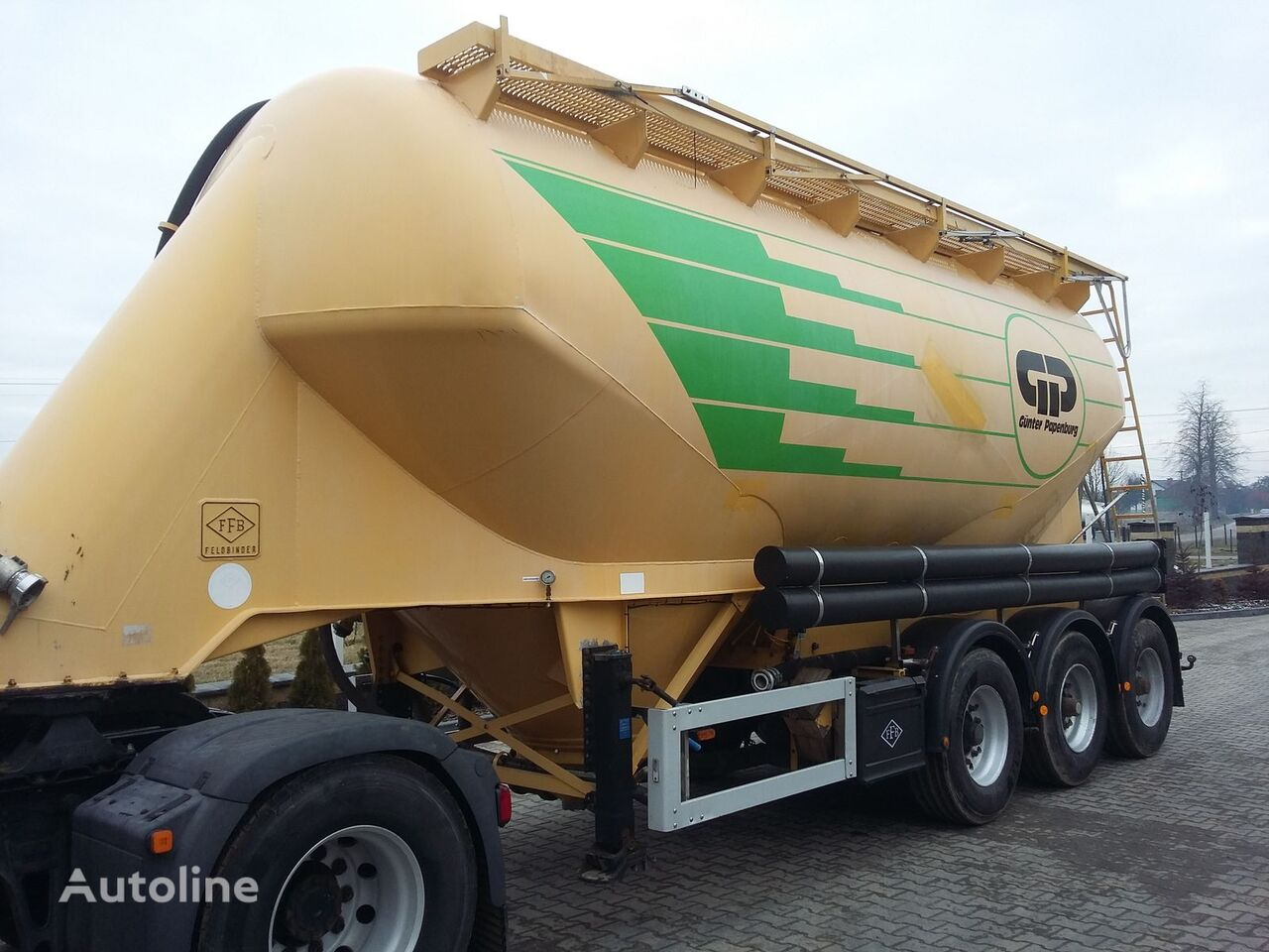cisterna za prevoz cementa FELDBINDER