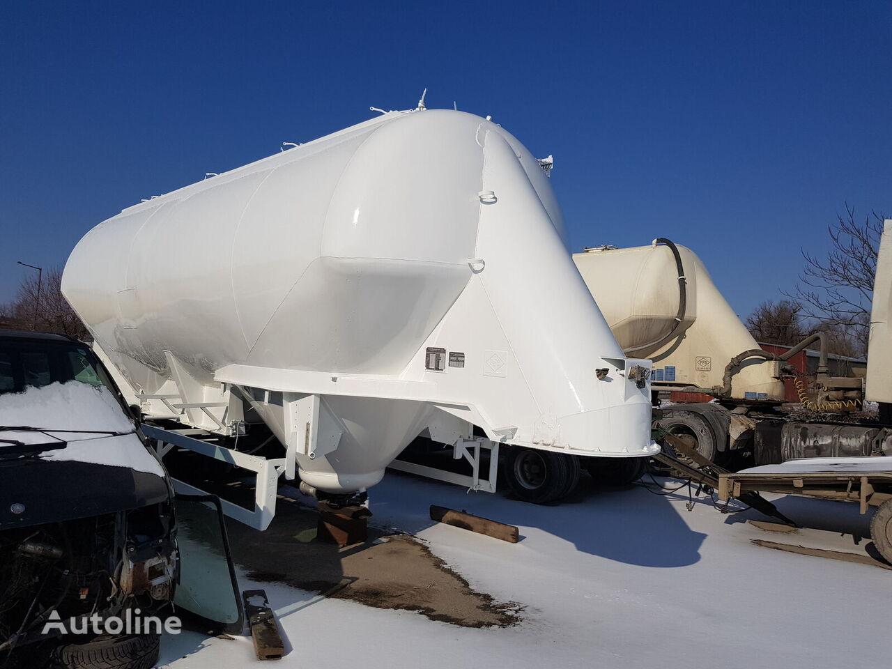 cisterna za prevoz cementa FELDBINDER EUT 36.3
