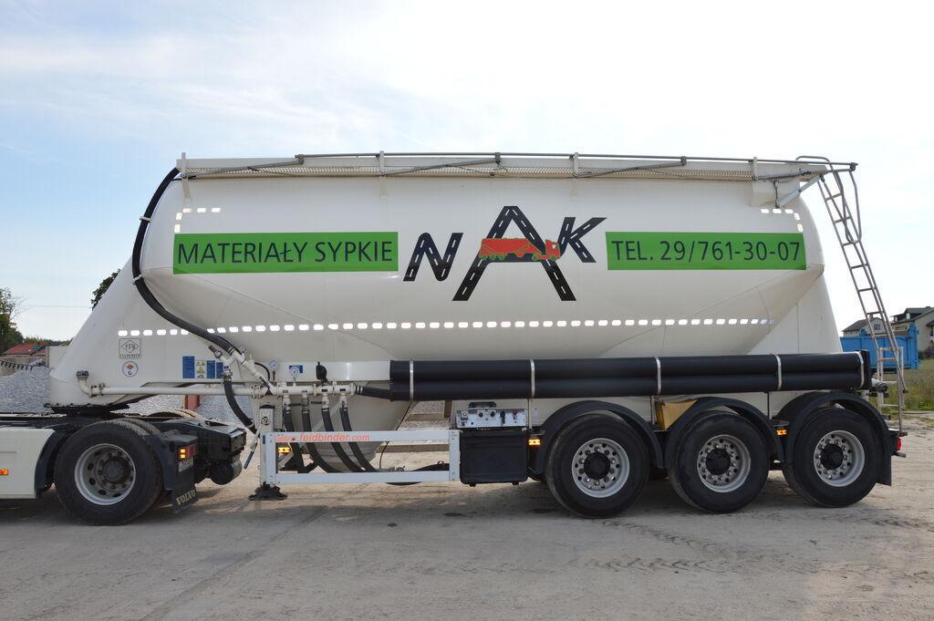 cisterna za prevoz cementa FELDBINDER EUT 37.3