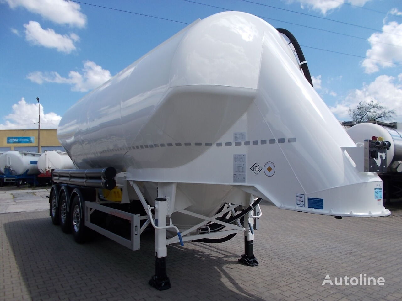 nova cisterna za prevoz cementa FELDBINDER EUT 37.3 ODBIÓR NATYCHMIASTOWY !!!!