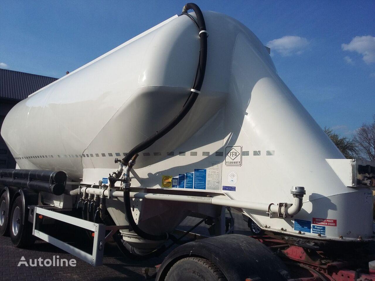 cisterna za prevoz cementa FELDBINDER EUT 40.3