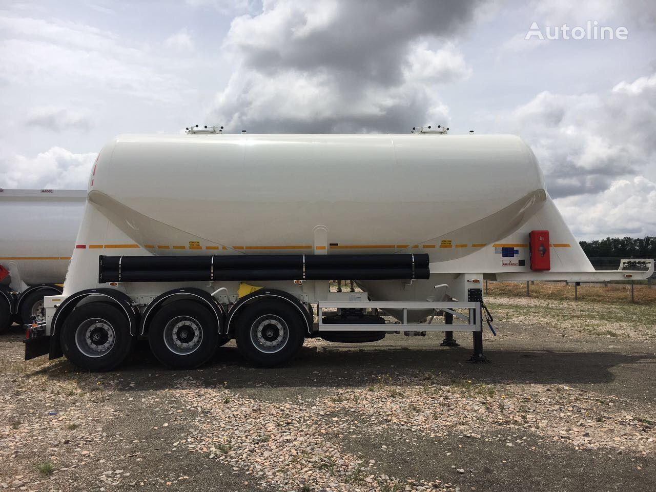 nova cisterna za prevoz cementa KASSBOHRER SSL 35 /2-10/24