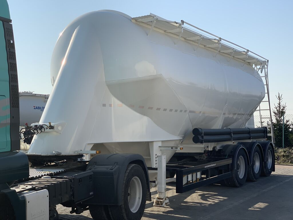 cisterna za prevoz cementa KASSBOHRER SSL35
