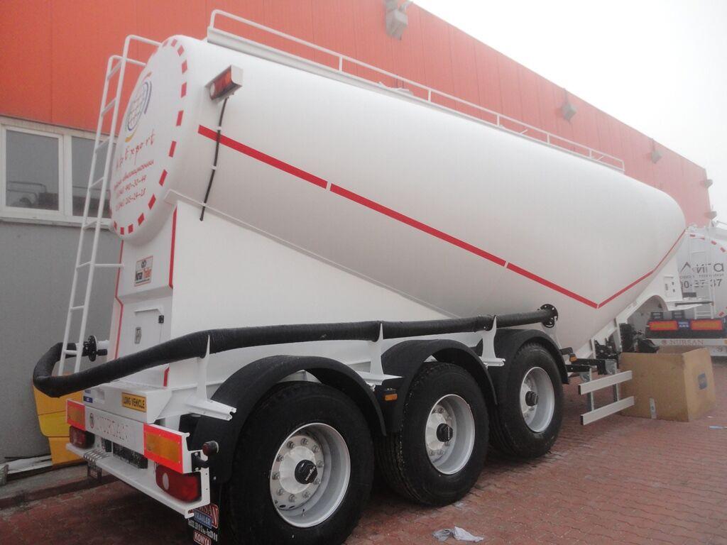 nova cisterna za prevoz cementa NURSAN 3ANRS