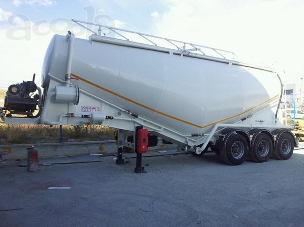 nova cisterna za prevoz cementa NURSAN Vakuumnyy