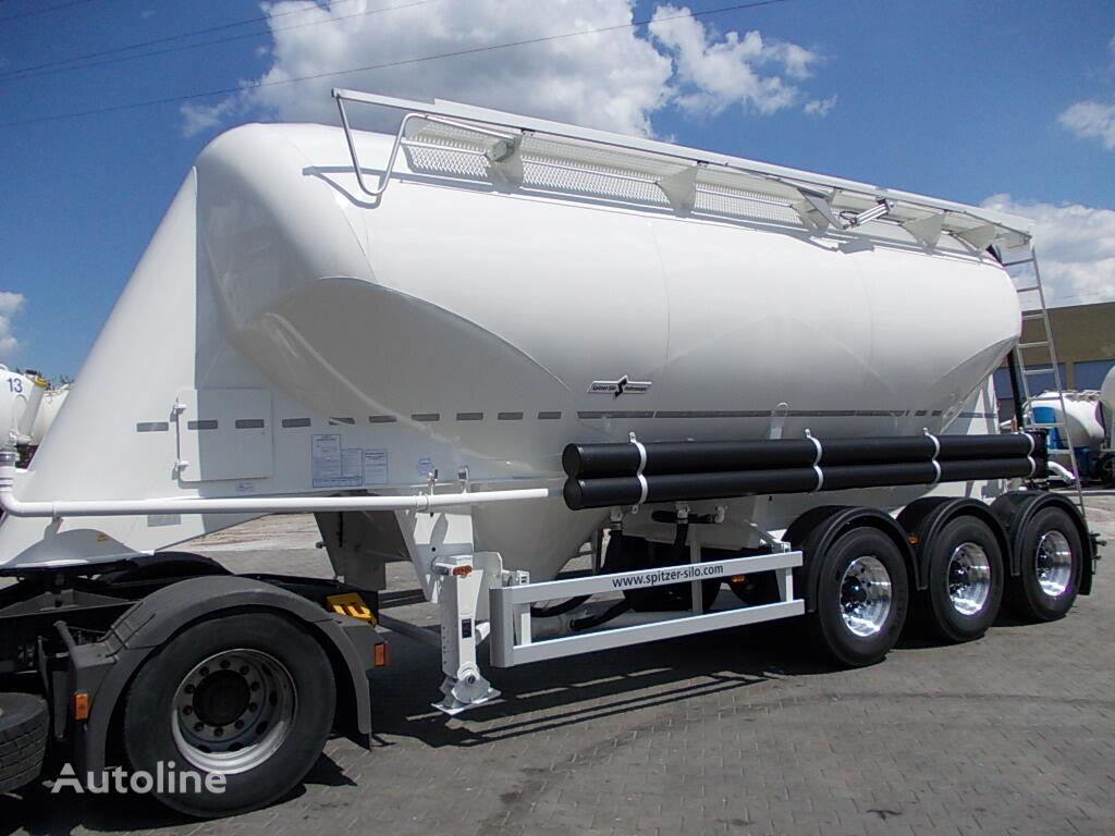 nova cisterna za prevoz cementa SPITZER SF 2734/2P - ODBIÓR NATYCHMIASTOWY !!!