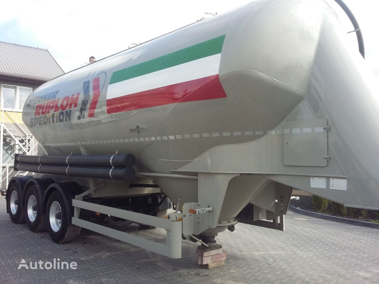 cisterna za prevoz cementa SPITZER SF 2737